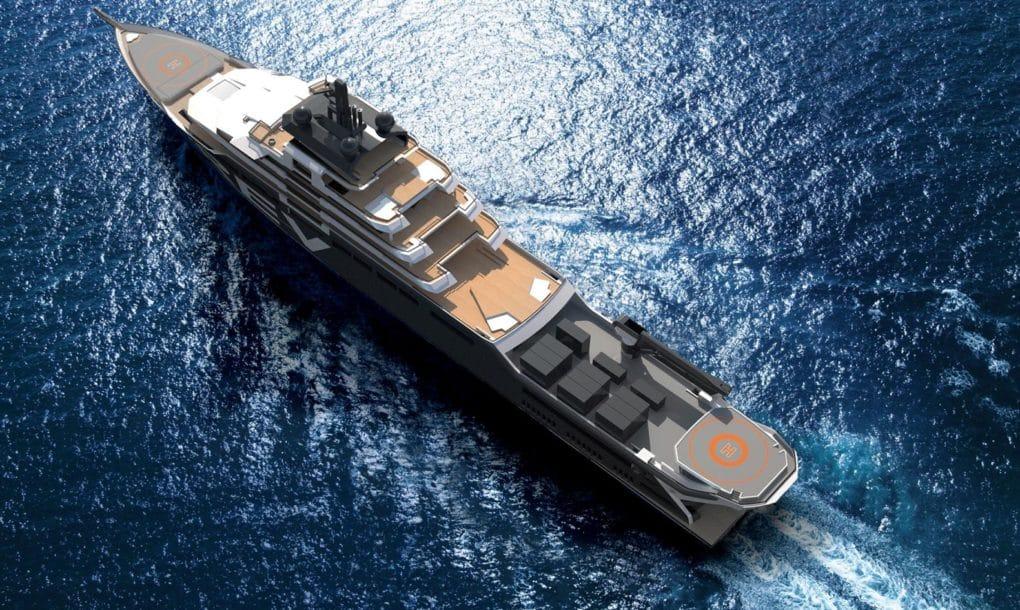 Construirán el Yate mas grande del mundo para extraer residuos del Océano.